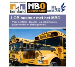LOB-bustour met het mbo